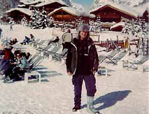 Mike Henness in Val d'Isere, France