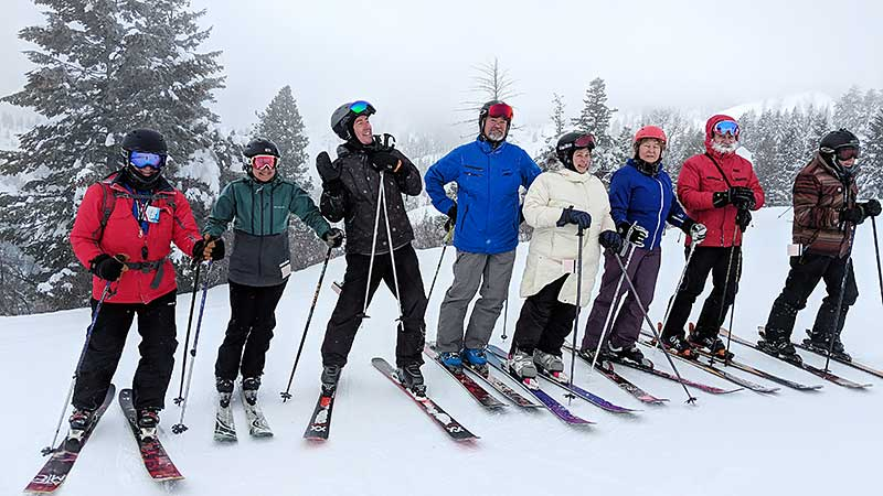 Bogus Basin group pic